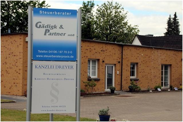 Kanzlei im Harksheider Weg 77 in 25451 Quickborn