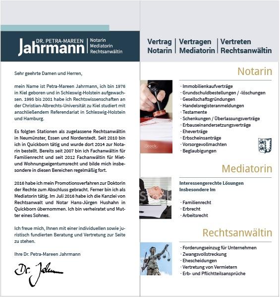 Flyer Jahrmann